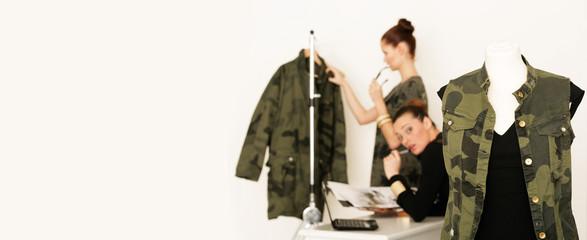 junge Modedesigner