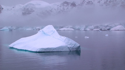 Fototapete - antarctic iceberg