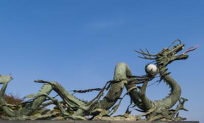Papiers peints Dragons Dragon statue