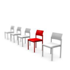 stuhl, platz, rot, sitzplatz, warten, wartezimmer,