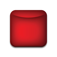 Web button blank (red)