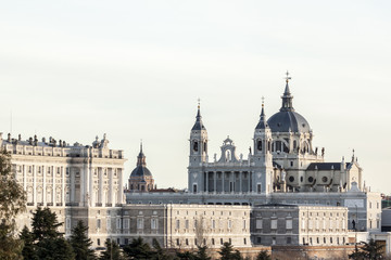 The Almudena Cathedral, Madrid