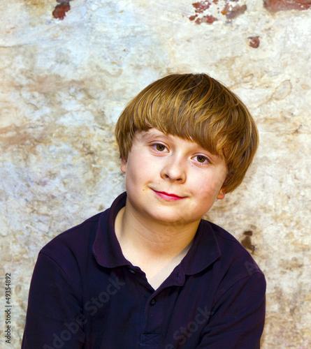 Cute young boy