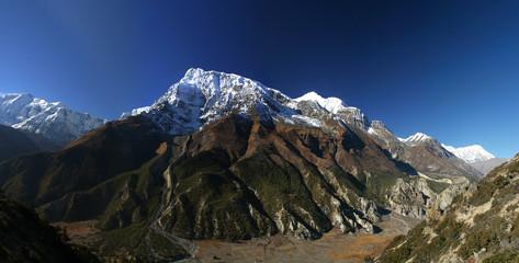 Annapurna ridge, Himalayas, Nepal