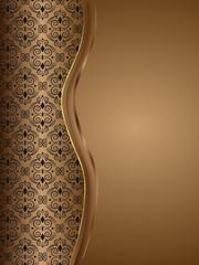czekoladowe tło