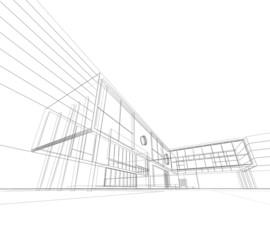 Modern blueprint
