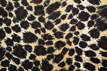 Leopard fabric texture