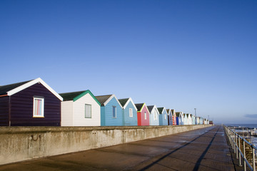 Beach Huts, Southwold, Suffolk, England