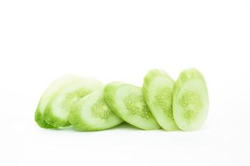 The green cucumbers