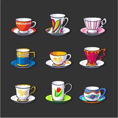 Tea caps. Set