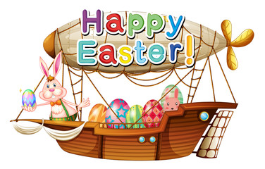 A unique happy easter greeting