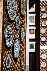 Cordoba,Spain-outdoor detail,decorative hand painted Andalusian