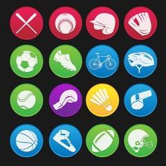 Sport Icon Gradient Style