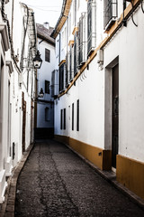 Oldarchitecture in of the famous city Cordoba in Spain
