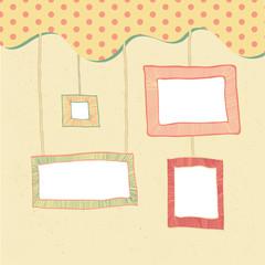 doodle frames background