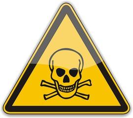 panneau matières toxiques