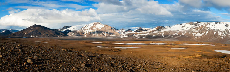 Mountains on Iceland