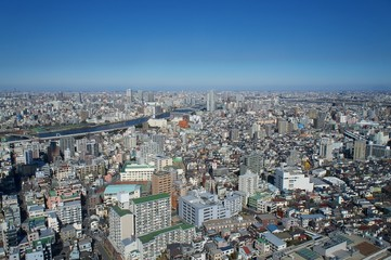 Foto op Canvas 東京下町の風景