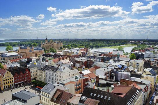 Schwerin city view