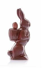 Lapin de Pâques en chocolat
