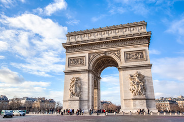 Photo sur Plexiglas Paris Arc de Triomphe