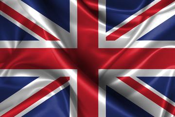 Wavy Flag of United Kingdom