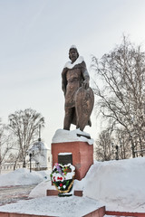 Monument to Alexander Nevsky in Vladimir, Russia