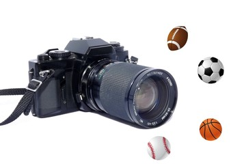 Camera and Sports Equipment