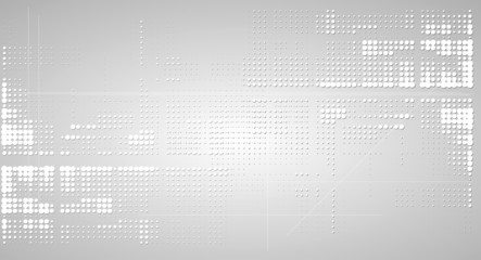abstract paper grey futuristic computer technology business back