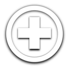 premiers secours vignette blanche
