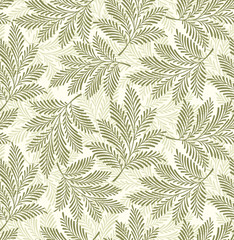 Seamless leaves background,pattern