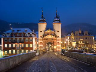 Fotomurales - Karl-Theodor-Brücke in Heidelberg