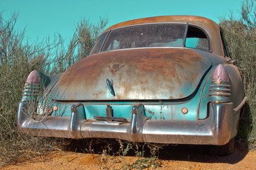 Oldtimer desolate