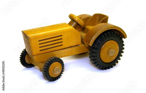 Quot traktor aus holz spielzeugtraktor ddr spielzeug s