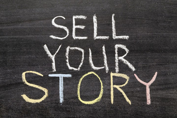 Wall Mural - sell your story