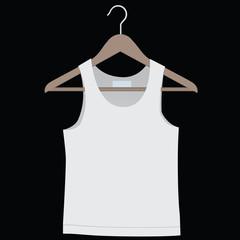 Shirt on a hanger