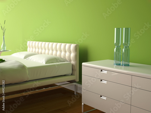 Modernes Schlafzimmer Grun Stock Photo And Royalty Free Images On