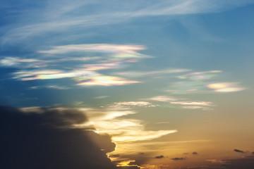 multi color cloud