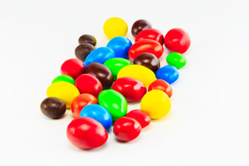 candy color isolated