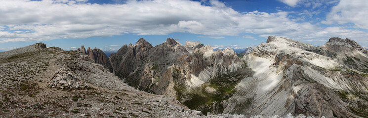 Italy beauty, Dolomity, national park Puez Geisler