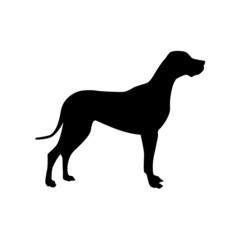 Logo Dog, alano # Vector