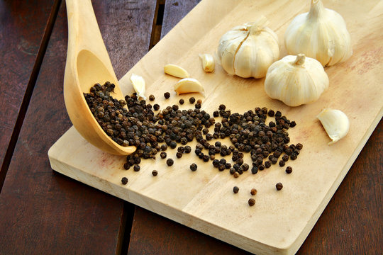 Peppercorn Garlic