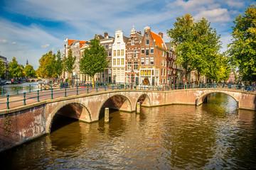 Photo sur Toile Amsterdam Amsterdam cityscape