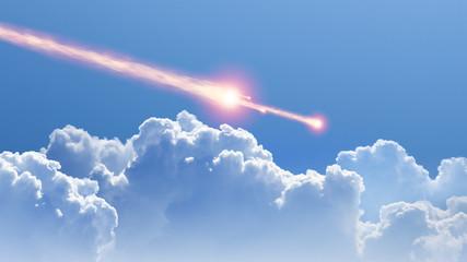 Asteroid, meteorite impact
