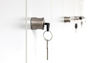 Schranktür Schlüssel