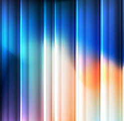 Abstract blue vector background template