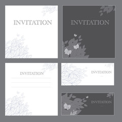 Decorative invitations
