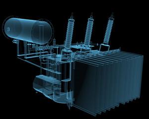 Transformator substation