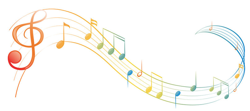 A music note