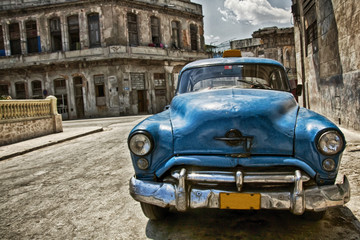 Wall Murals Cars from Cuba Cuba